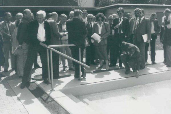 Einweihung nach Renovierung 1986 2