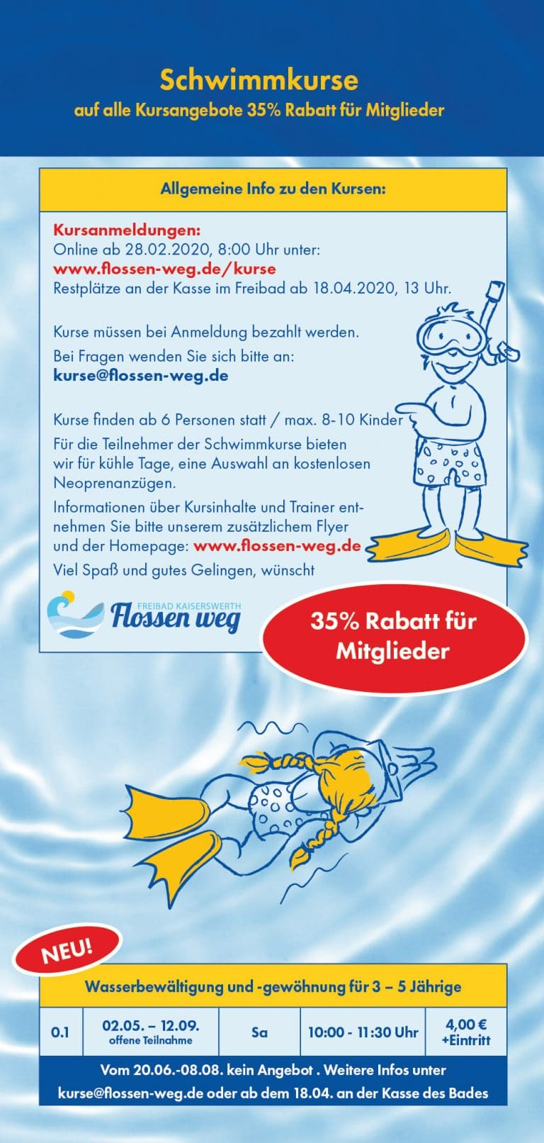 Flossen weg Flyer 2020-06