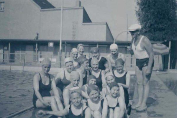 Freibad Kwerth Sommer 1938