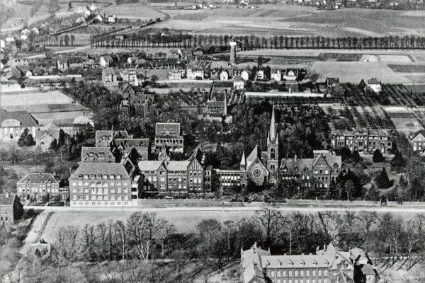Luftbild Fronberg vor 1930 (2)