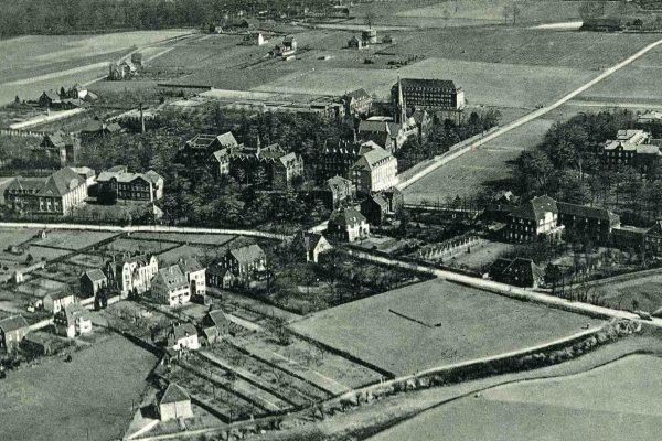 Luftbild Fronberg vor 1930