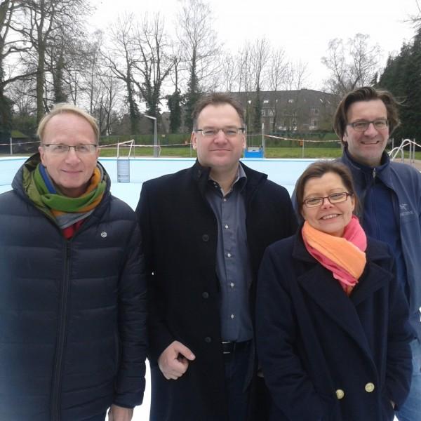 Rolf Herzog, Arnd Christochowitz, Antje Müller-Naber, André Turck (1. Vorsitzender).